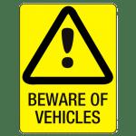 Beware of vechiles