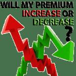 Premium increase decrease