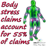 Body stress claims