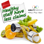Healthy staff have less claims