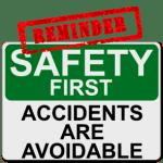 Safety Reminder Fines Apply